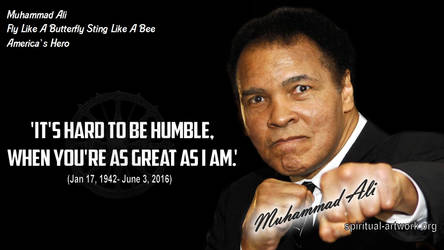 235.-Muhammad-Ali-Its-Hard-to-be-Humble-when-youre
