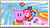 kirbyXribbon stamp by BMAN44
