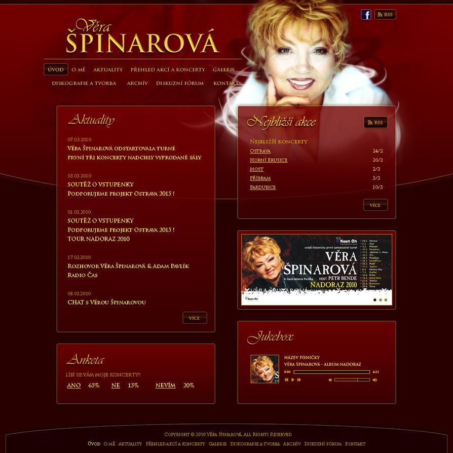 Vera Spinarova by plechi