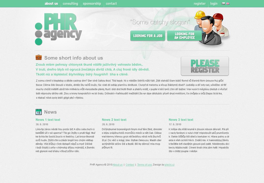 PHR agency by plechi