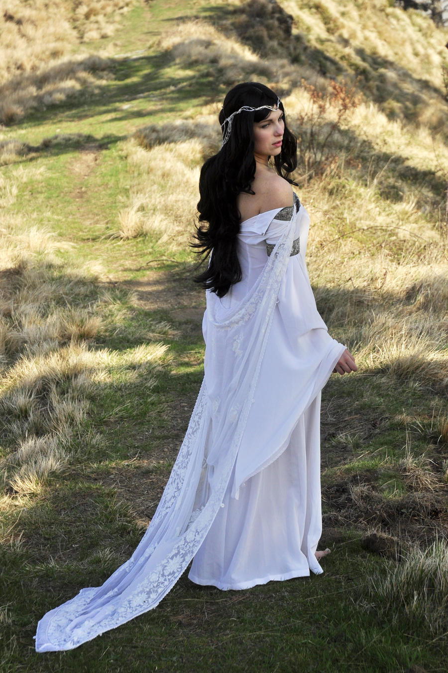 Luthien 15 by jaymasee on deviantart for Elven inspired wedding dresses