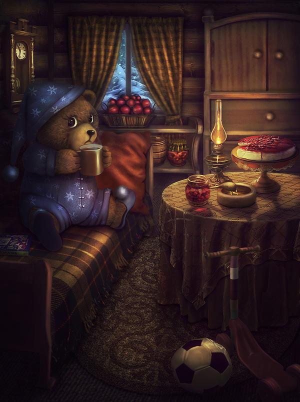First Winter Insomnia by Favoletta