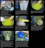 Silicone casting: Dragonskin 20 tutorial by Sharpe19