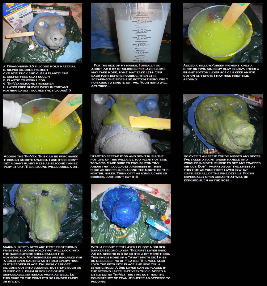 Silicone casting: Dragonskin 20 tutorial by Sharpe19 on