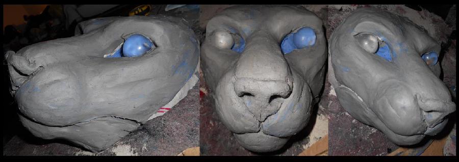 feline sculpt by Sharpe19