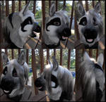 Grayscale pony