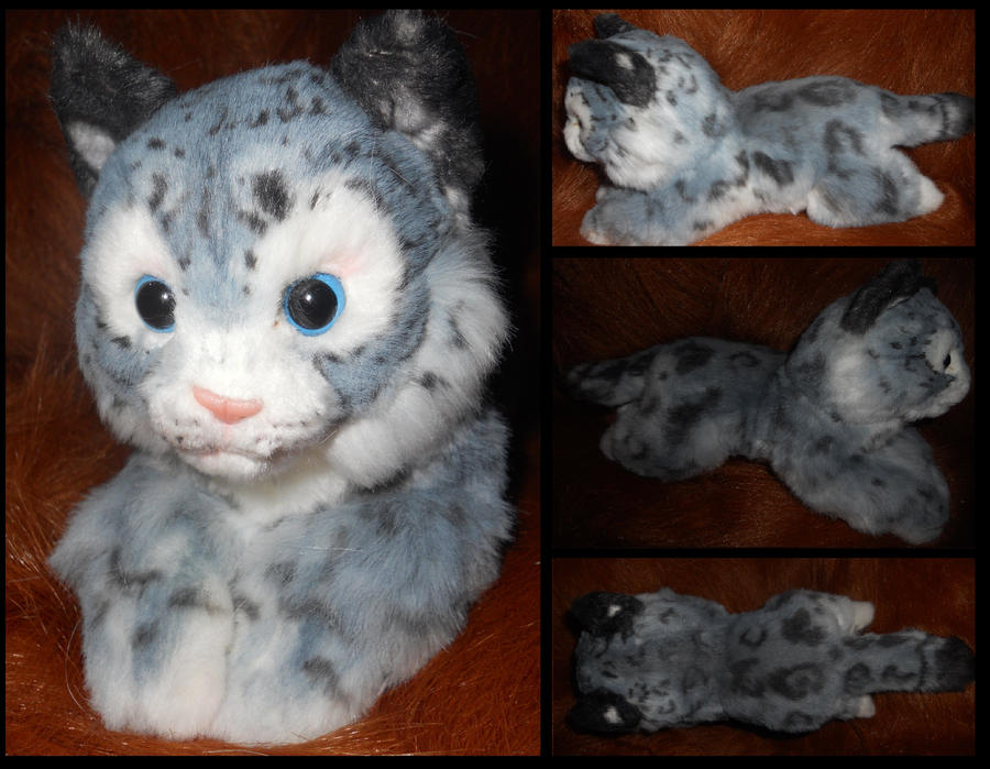 Snow leopard: custom airbrush job by Sharpe19