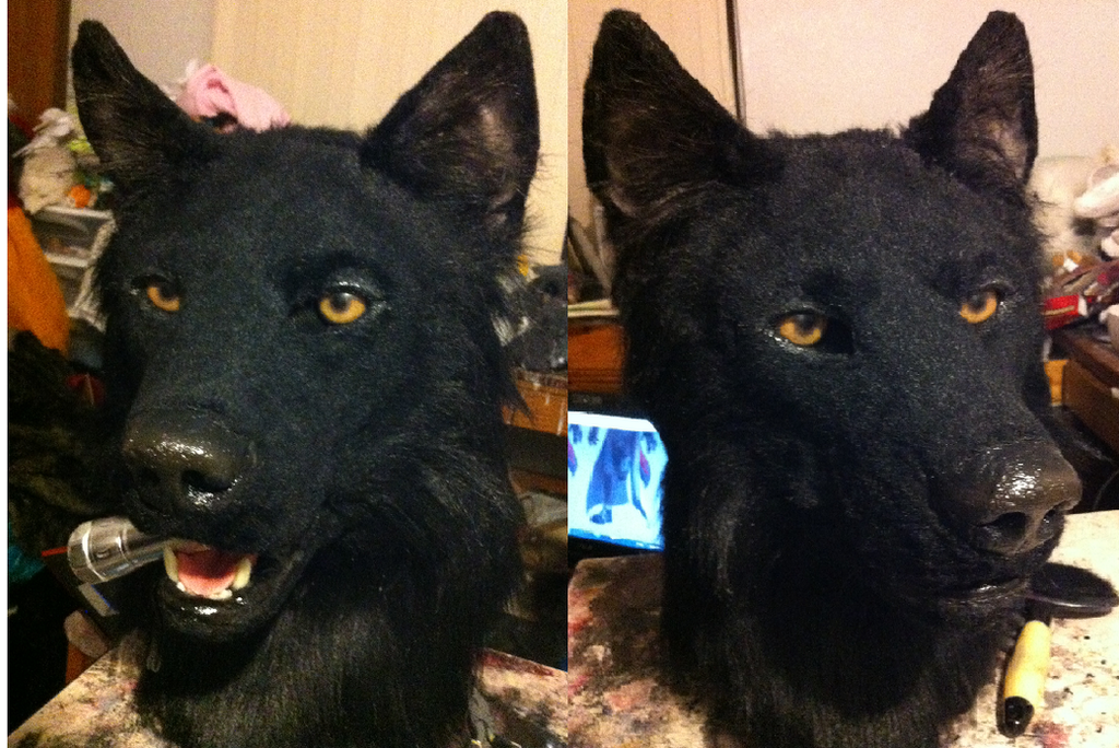 Loup noir by Sharpe19