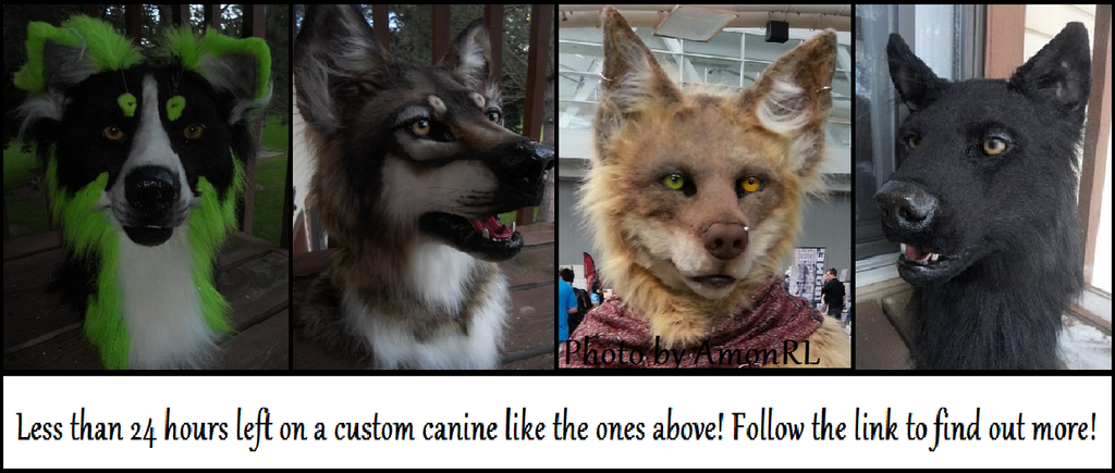Custom canine auction Reminder! by Sharpe19
