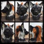 Black/rust werewolf