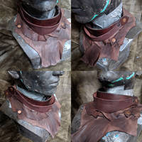 Full leather cowl