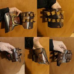 Mandalorian bicep armor