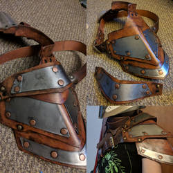 Mandalorian shoulder guard
