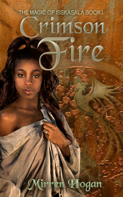 Crimson Fire cover display by futuregrrl