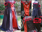Gothic Prom Gown