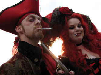 smoking pirates