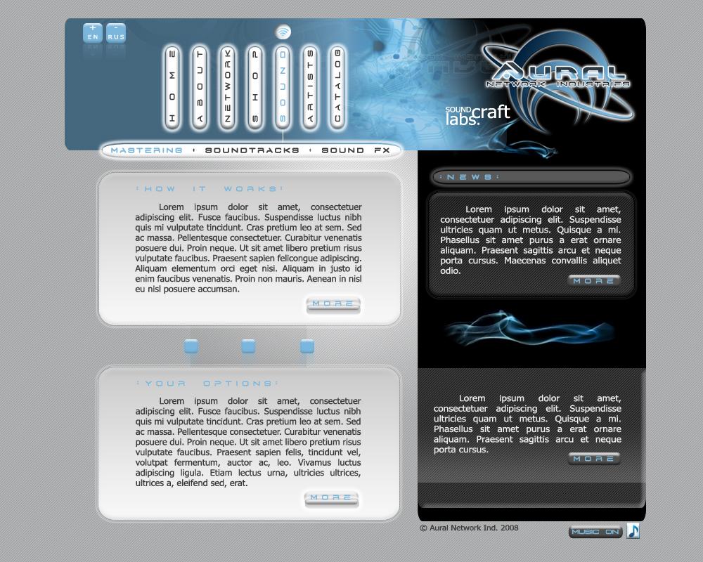 Aural Website II by YagaK