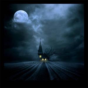 Starry witch's hut