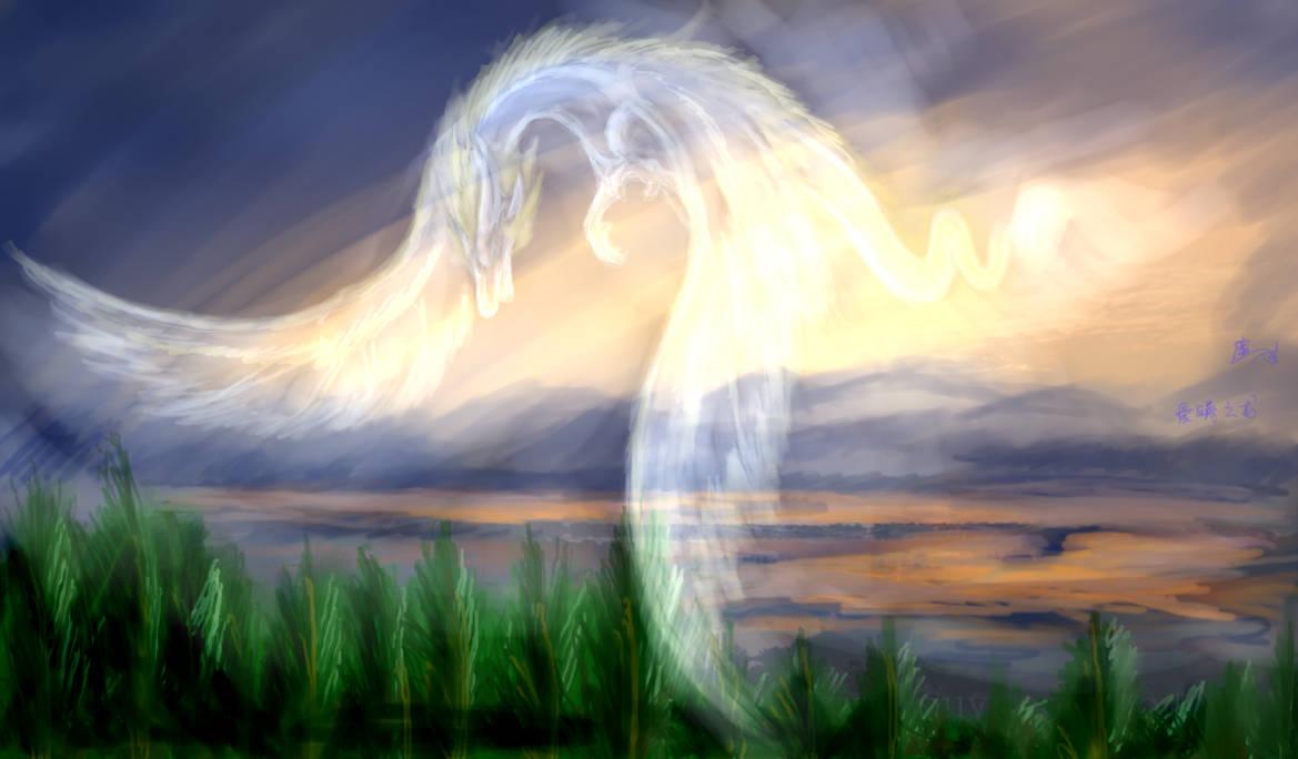impression sketch---myself-the dragon of dawn