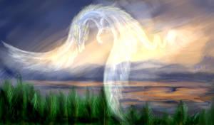 impression sketch---myself-the dragon of dawn by Lena-Lucia-dragon