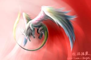 Soul of heaven fire by Lena-Lucia-dragon