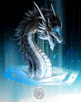 Ingress: The dragon of the Resistance by Lena-Lucia-dragon