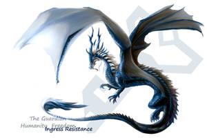 Resistance guardian dragon by Lena-Lucia-dragon