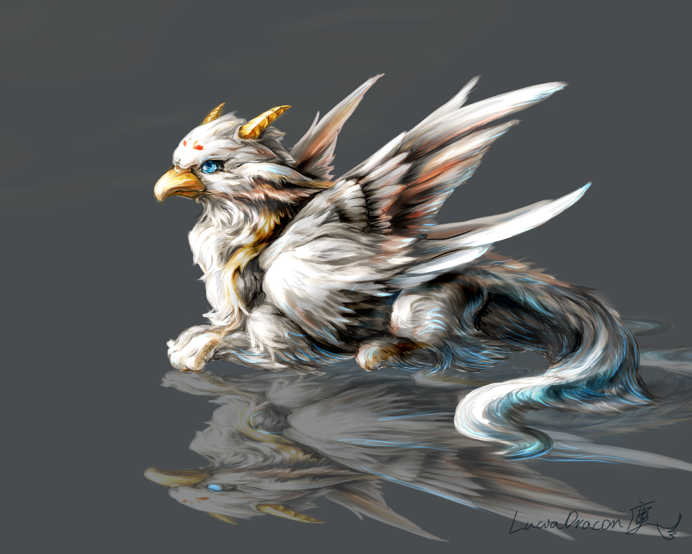 Griffin by Lena-Lucia-dragon