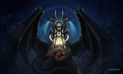 The keeper of the black hole