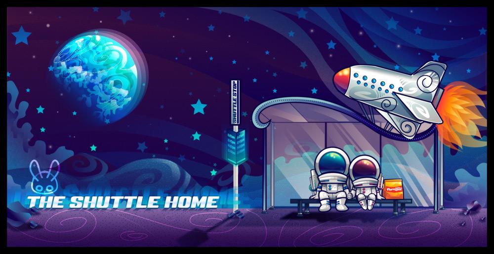 The Shuttle Home by jennduong