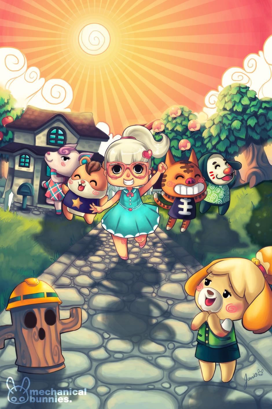 Animal Crossing New Leaf Desert Island Escape Snakes