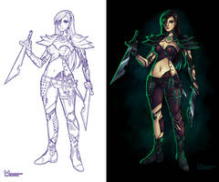 Cyborg Katarina