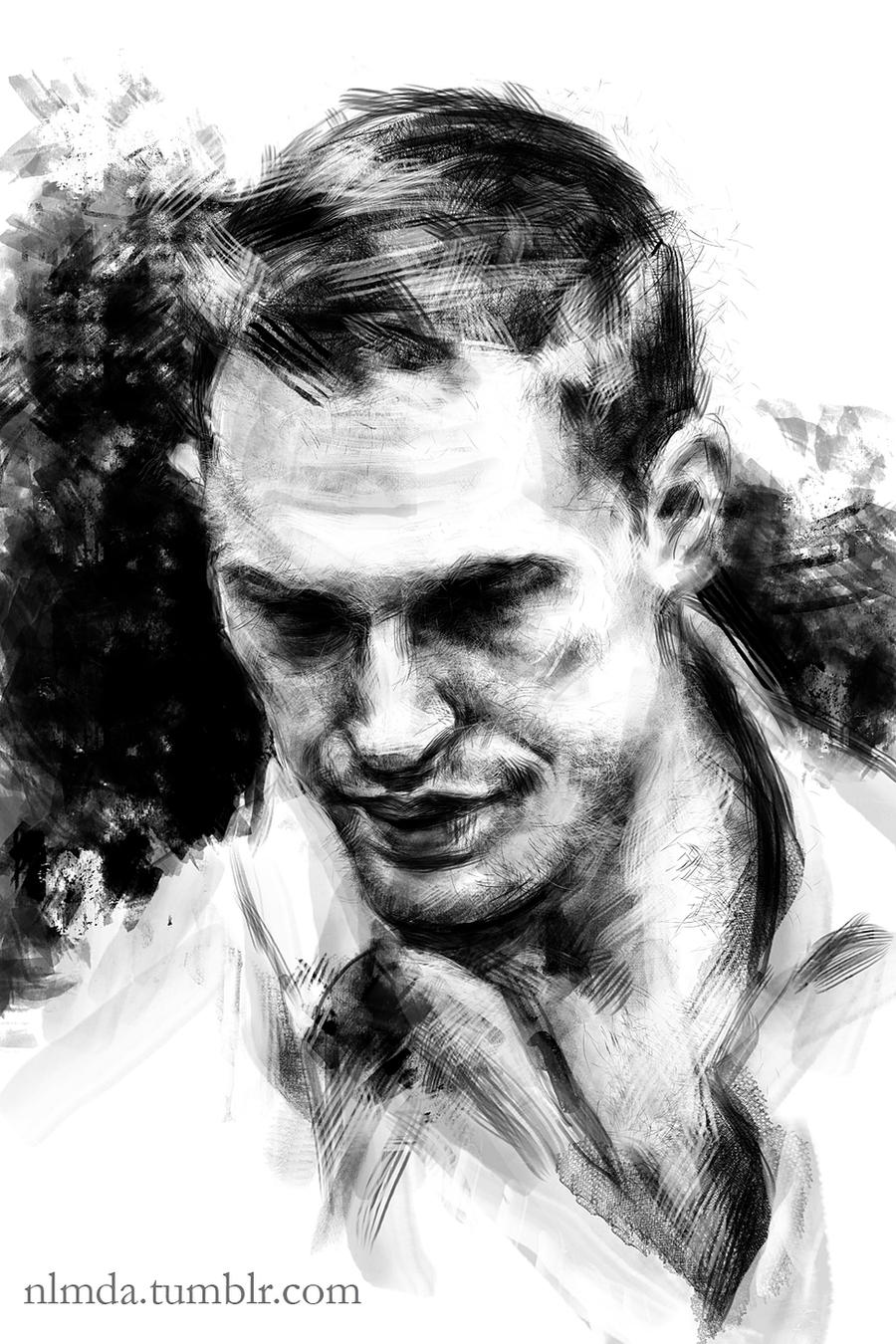 Tom Hardy by ladynlmda