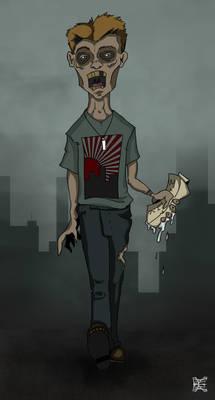 Zombie With 1L Milk
