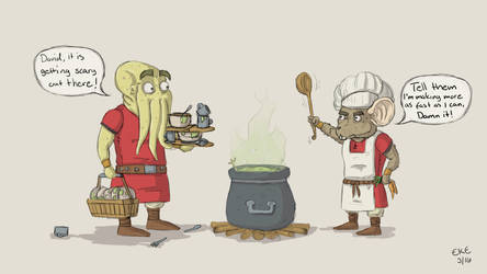 Don't mess with the cook