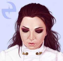 Amy Lee - close up by rosabelieve