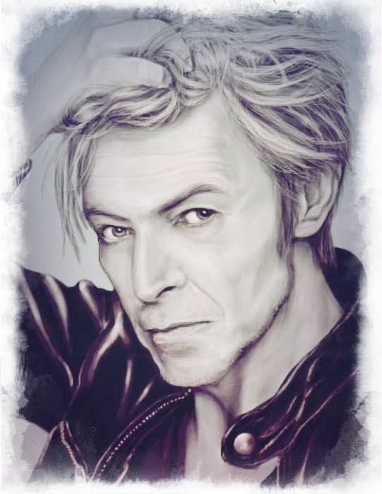 David Bowie by rosabelieve