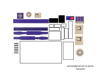 R2d2 Custom Skin For Gamecube Part1 by reyck