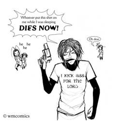 Sanzo Has a New Shirt by Yastach