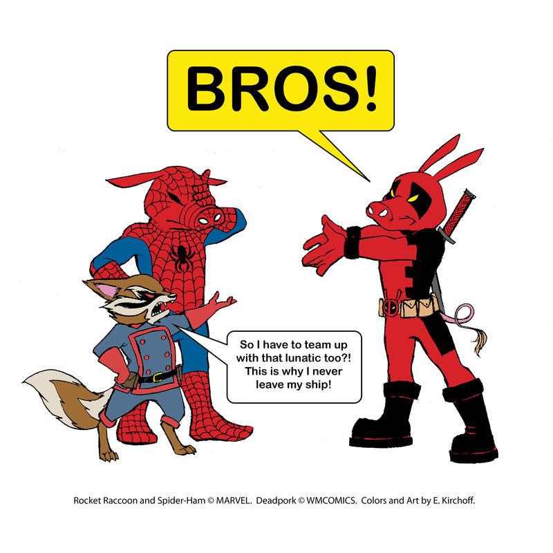 Ultimate Super-Bro Team by Yastach