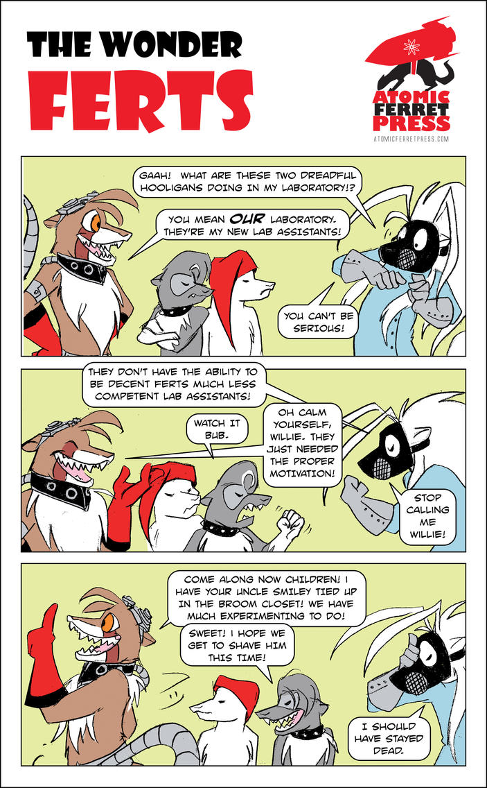 Wonder Ferts Strip 169 by Yastach