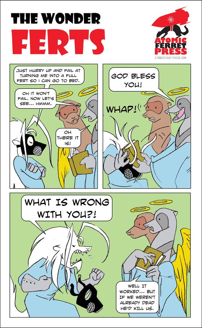 Wonder Ferts Strip 173 by Yastach
