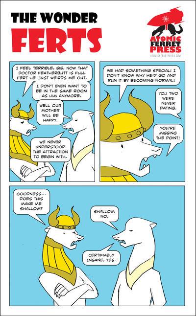 Wonder Ferts Strip 176 by Yastach