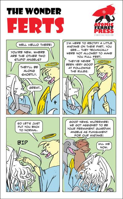 Wonder Ferts Strip 179 by Yastach