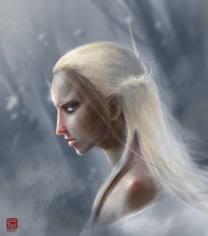 Lady Galadriel by Raiddo