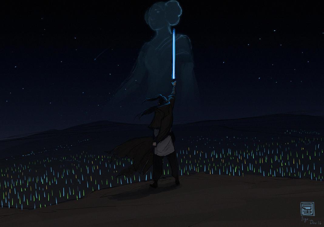 farewell Leia by Raiddo