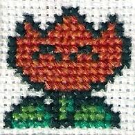 Flower Cross Stitch by magentafreak