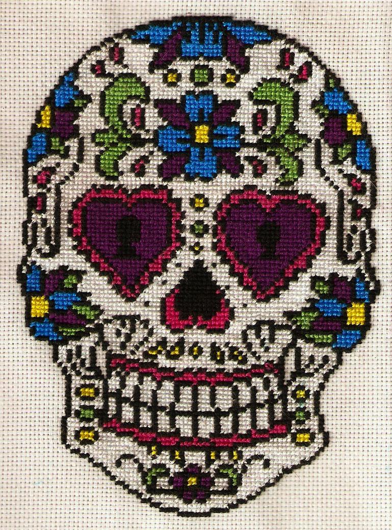Sugar Skull by magentafreak