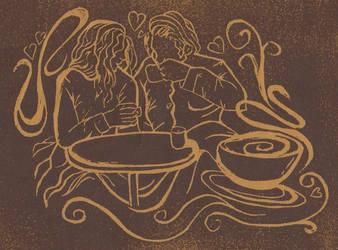 Coffee Shop by CherLynne