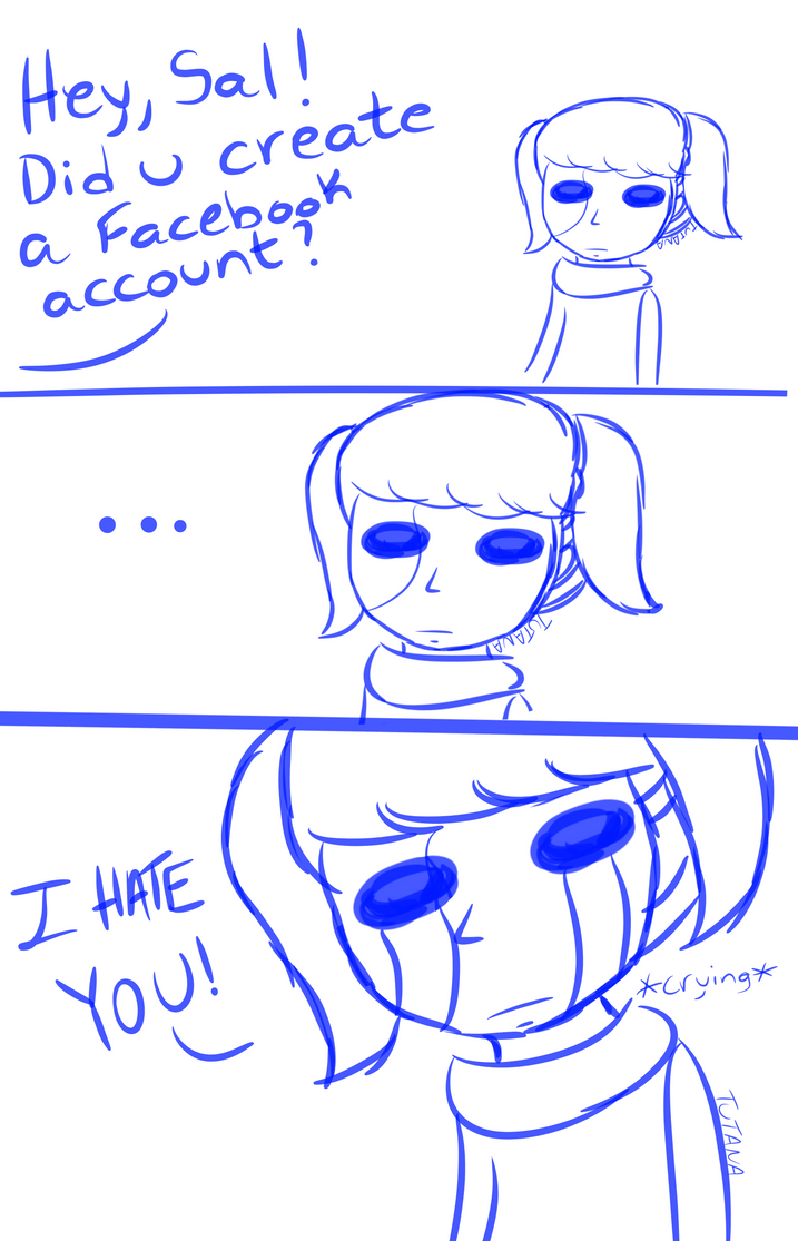 (Fan Art) (Comic Strip) Sally Face by Camz1408